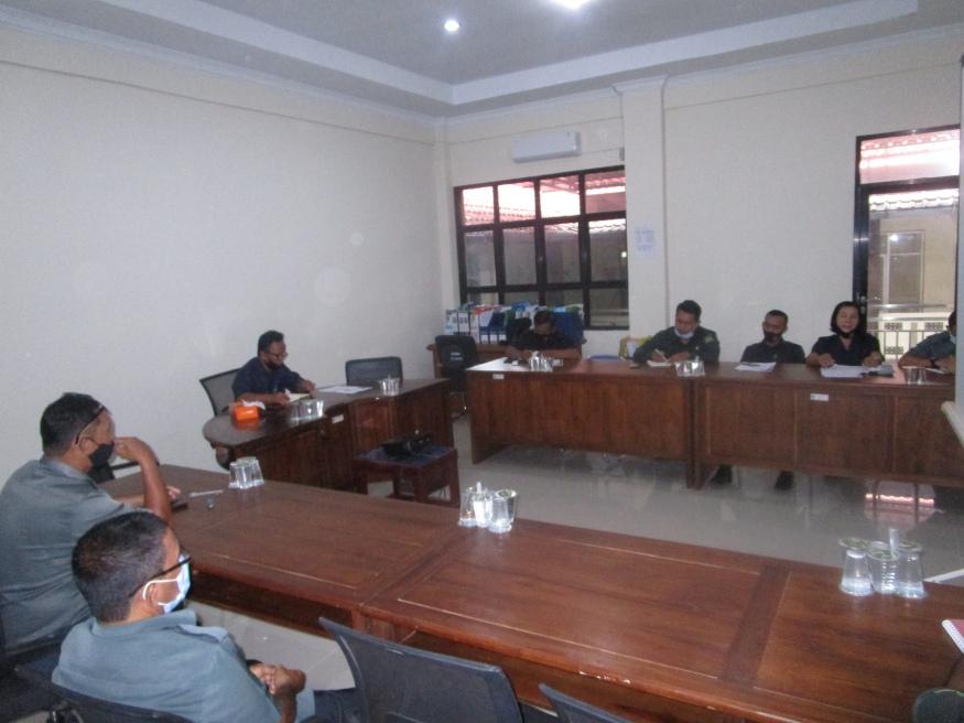 Rapat Internal Kepaniteraan Pengadilan Negeri Sintang Kelas II Bulan September 2020