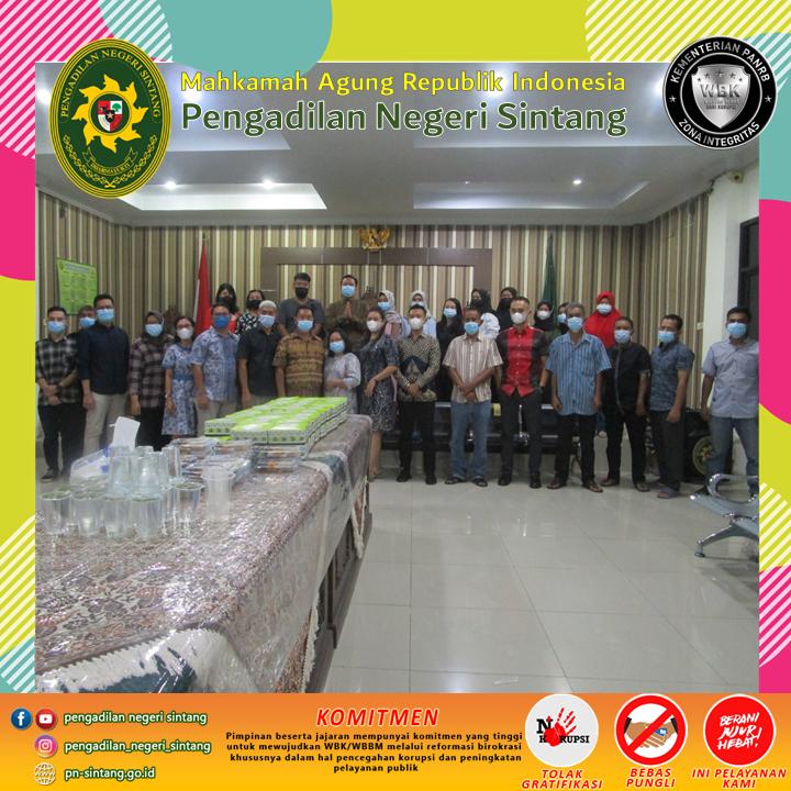 Buka Puasa Bersama Pengadilan Negeri Sintang Ramadhan 1442 H